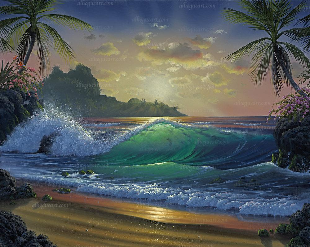 """""""Sunrise In Paradise"""""""