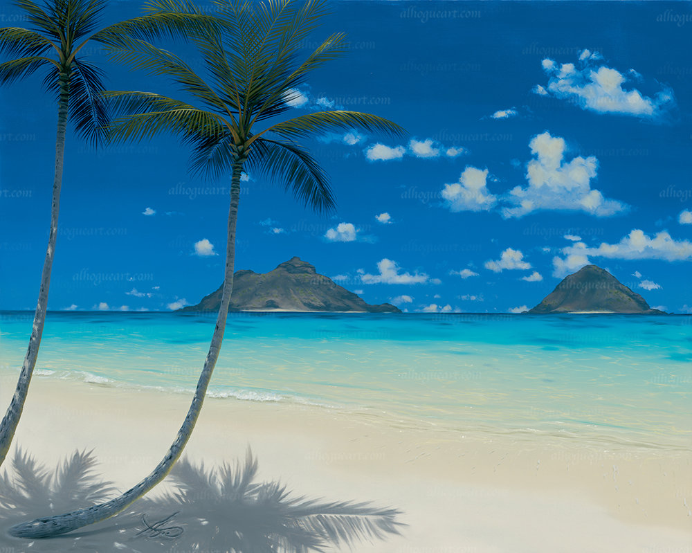 """""""Windward Dream """"  Available on limited edition Giclee on canvas"""