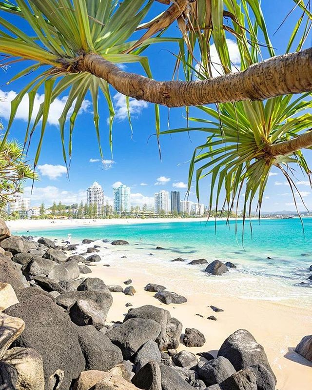 Is it Hawaii? Is it Fiji? No, it's @destinationgoldcoast!  @australia @goldcoast// 📷 @simonbeedlephotography