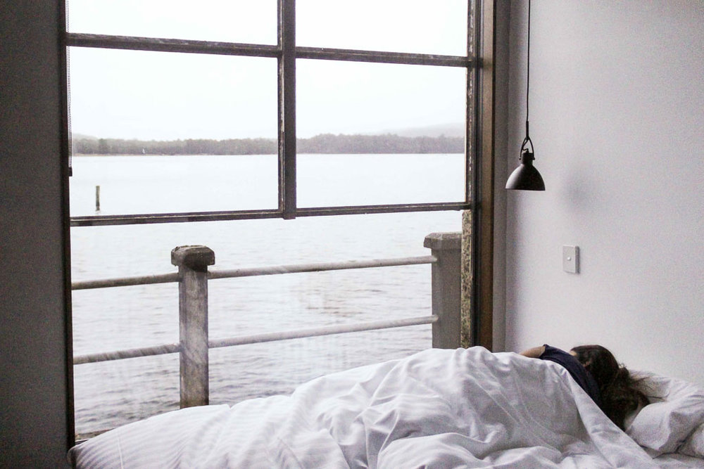 Room with a view at Pumphouse Point