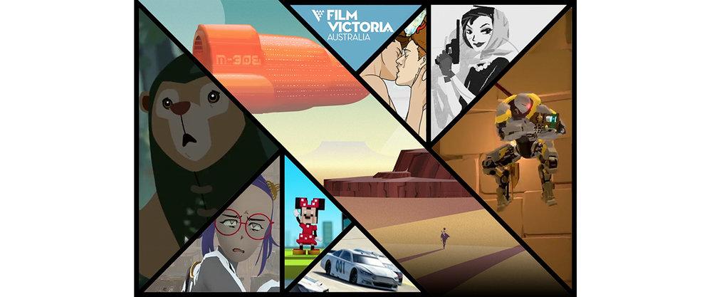 Client: Film Victoria Project: 2017 Games Showreel