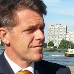 Ben van Scherpenzeel, director nautical developments, policy and plans Port of Rotterdam