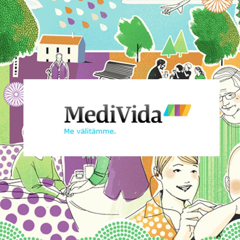 MediVida Oy - Sijoitus tehty v. 2014,sijoituksesta irtauduttu v. 2017