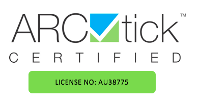 ARCtick-certified-license-number-AU38775