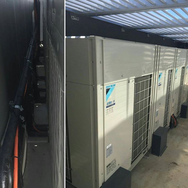 #outdoor #airconditioningunits #airconditioning #installed #tidy #aquariusairconditioning