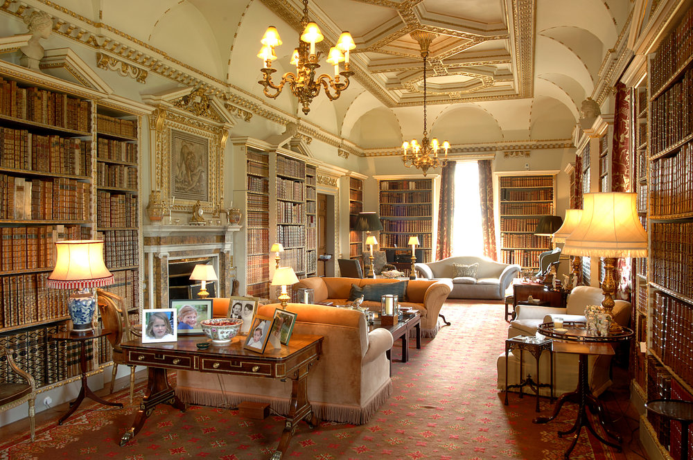 The Long Library, Holkham Hall, Norfolk  Photo: By kind permission of the Earl of Leicester and the Trustees of the Holkham Estate