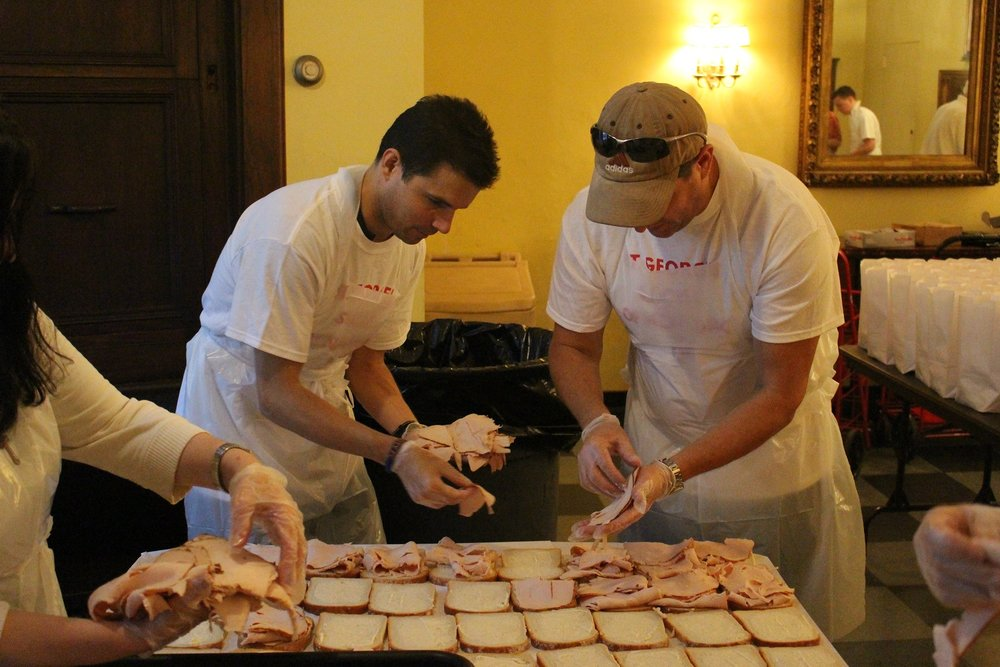 St. George's Gives Back -