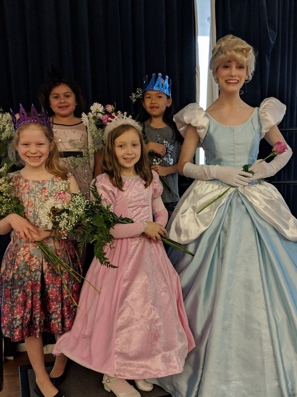 Children at The British International School of New York made their celebration a truly royal affair!