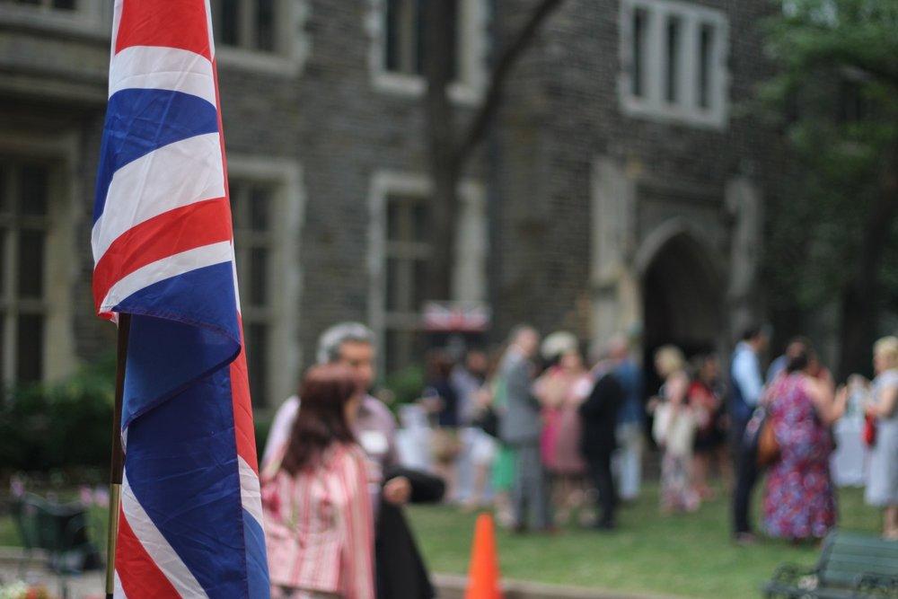 BRITISH SOCIETIES SUMMER GARDEN PARTY