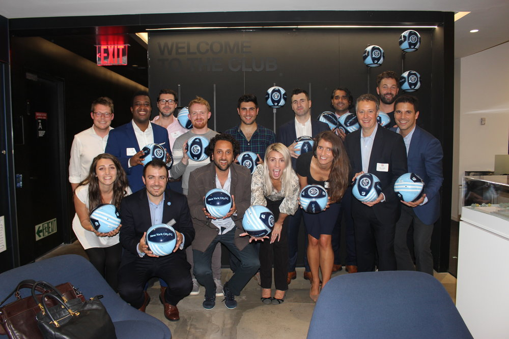 PRIVATE RECEPTION<BR>WITH NYCFC<BR>18 September 2018