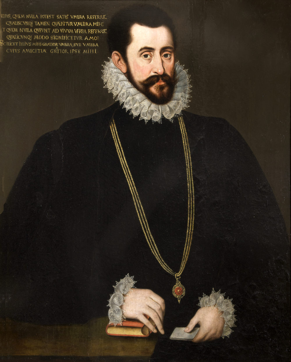 Sir Francis Walsingham, MP or Sir John Wolley, MP. © National Trust.png