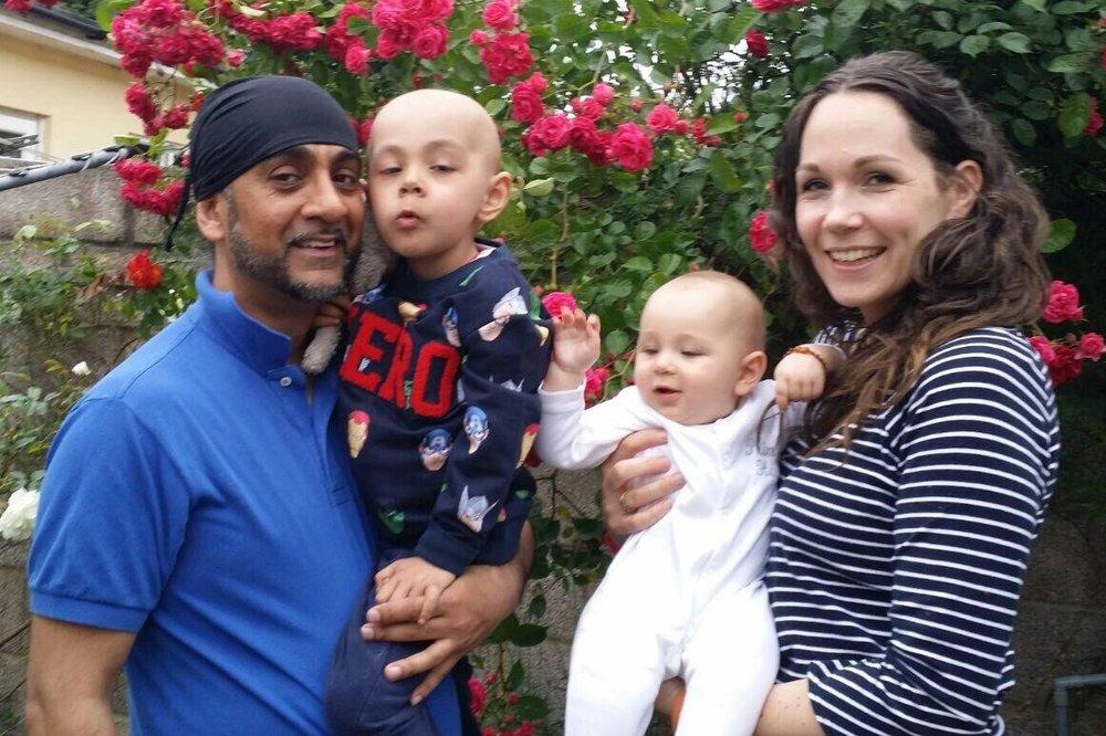 The Virdee Family: Kulwant, Reuben, Hari and Jess