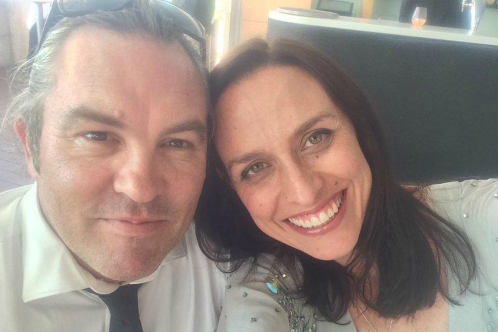 Shevonne with her husband Daniel