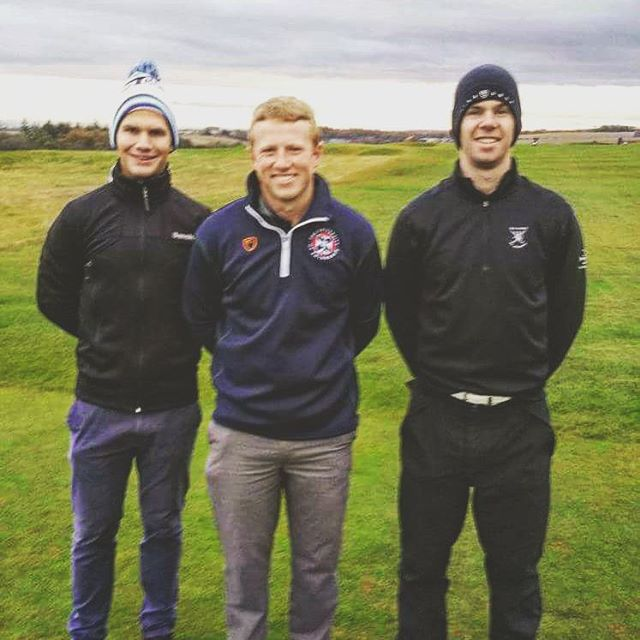 Well done to @mike_howard3 who finished 4th in the BUCS student tour event at Fairmont! #bleedthebadge #belong #EUGC