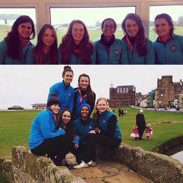 EUGC Ladies get 2016 off to a great start, with away wins against St. Andrews Uni Ladies and Aberdeen Uni Ladies #eugc #undefeated