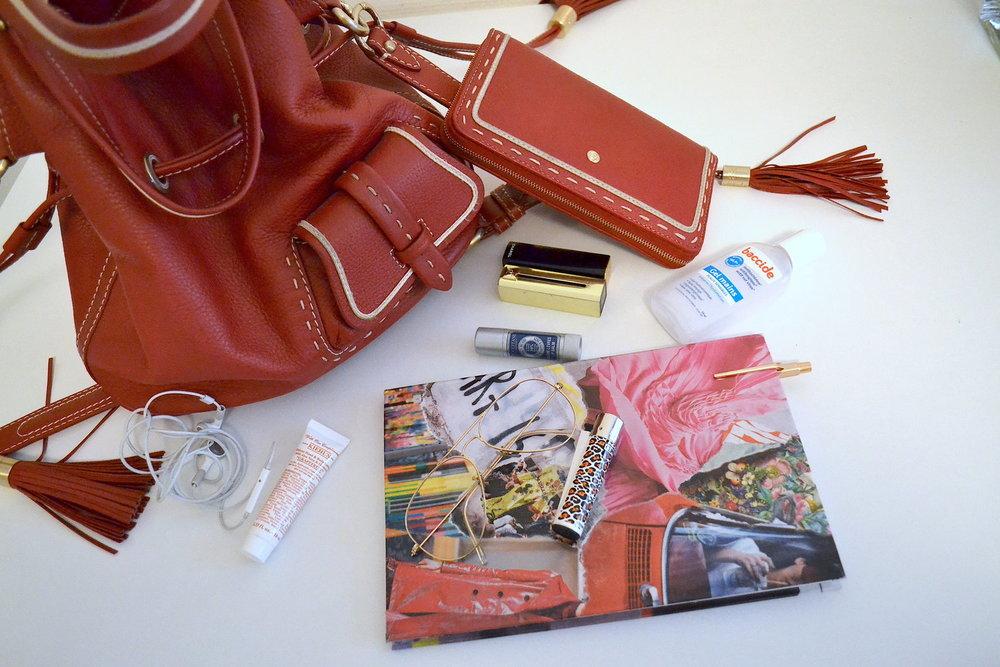 sac lancel rouge