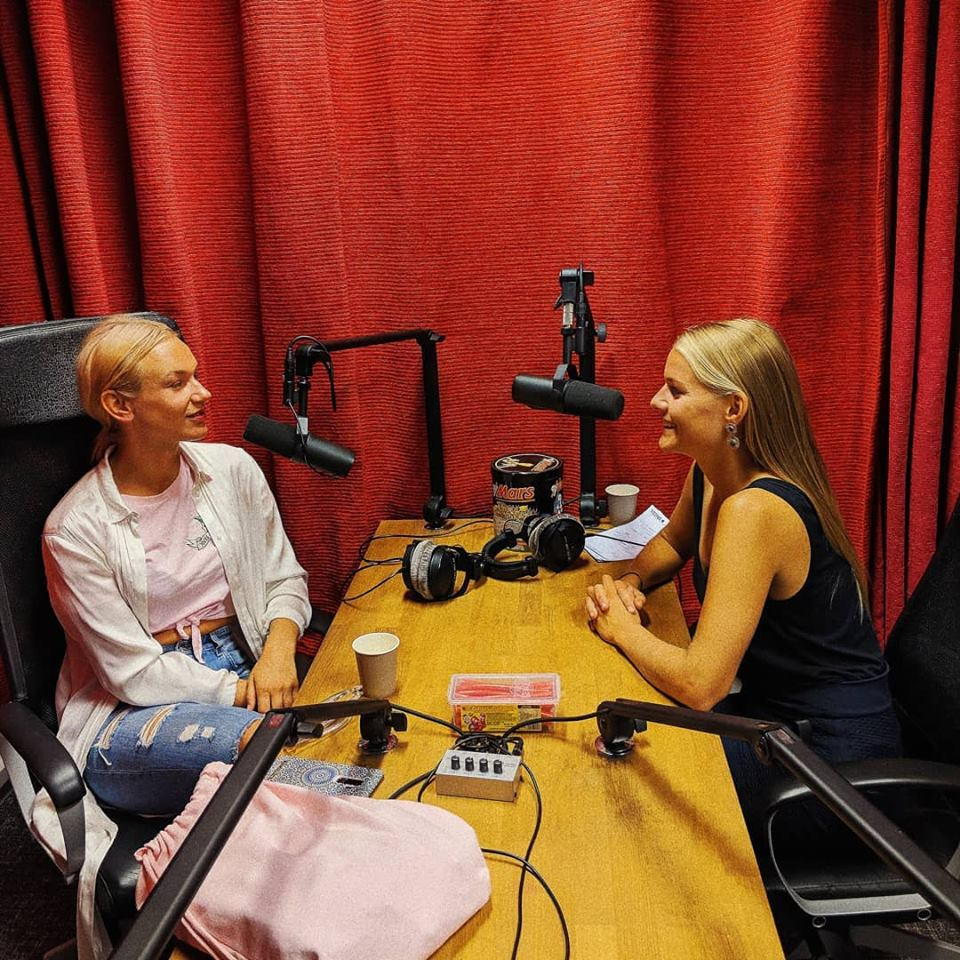 the power ladies podcast med yrja