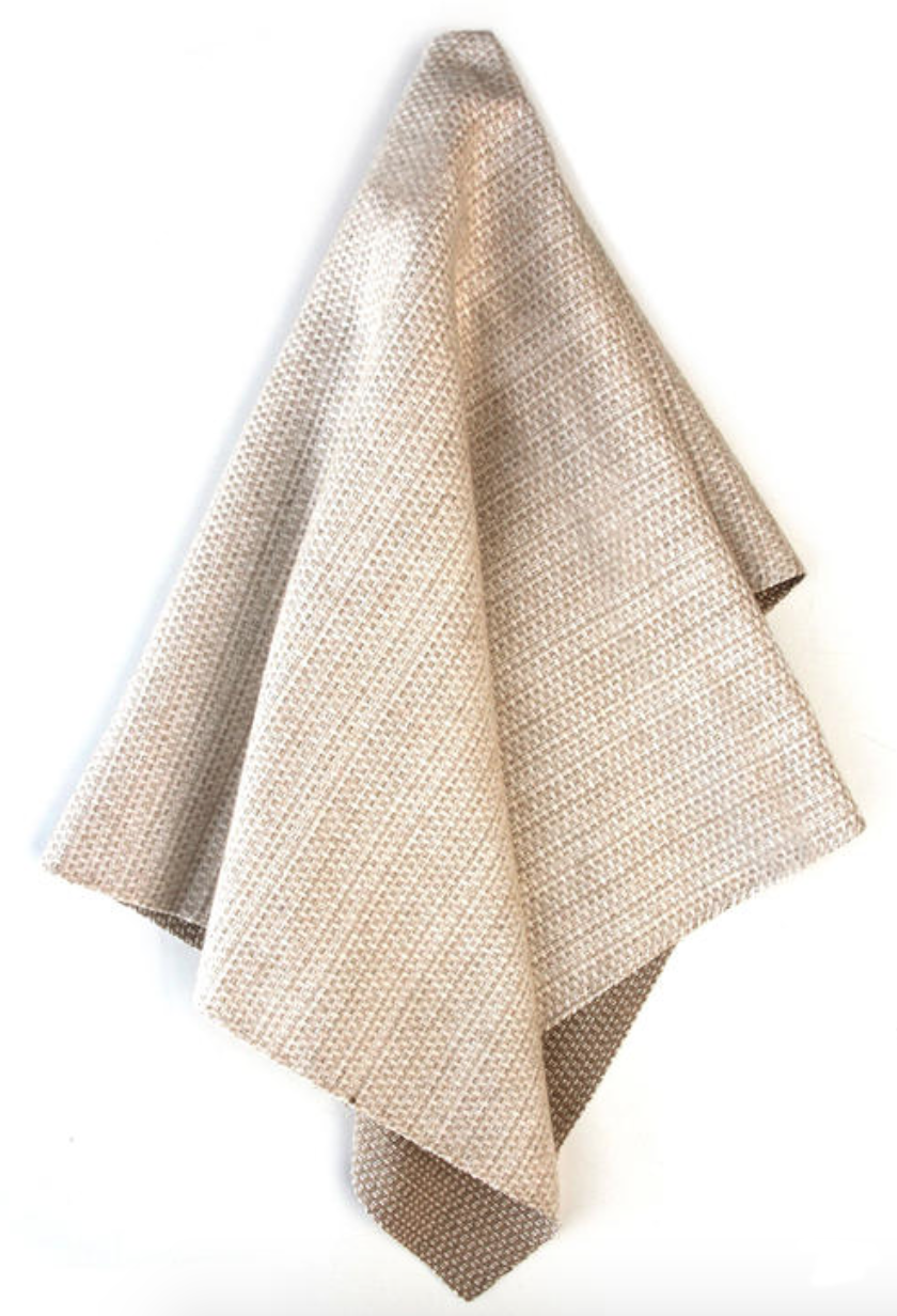 Chris Barrett Textiles - Tattersall - Hazelnut