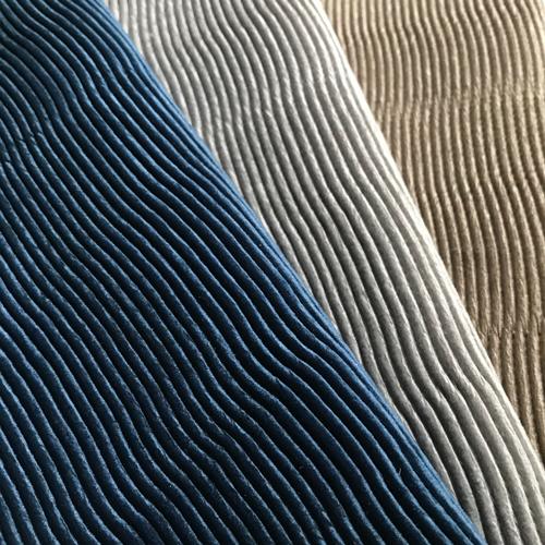 Plush Velvet in Mini Pleat