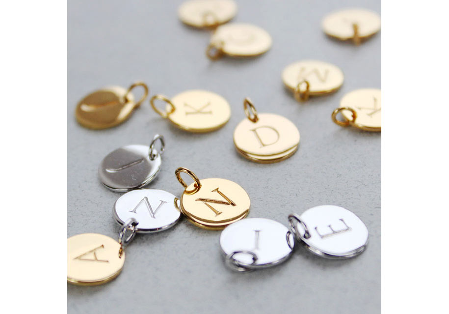 INITIALS   Our initial pendants feature a delicate selection of beautiful necklaces which come personalised in the initial of your choice. Add a birthstone charm for a splash of colour and extra meaning making these pieces wonderful gifts for any occasion.