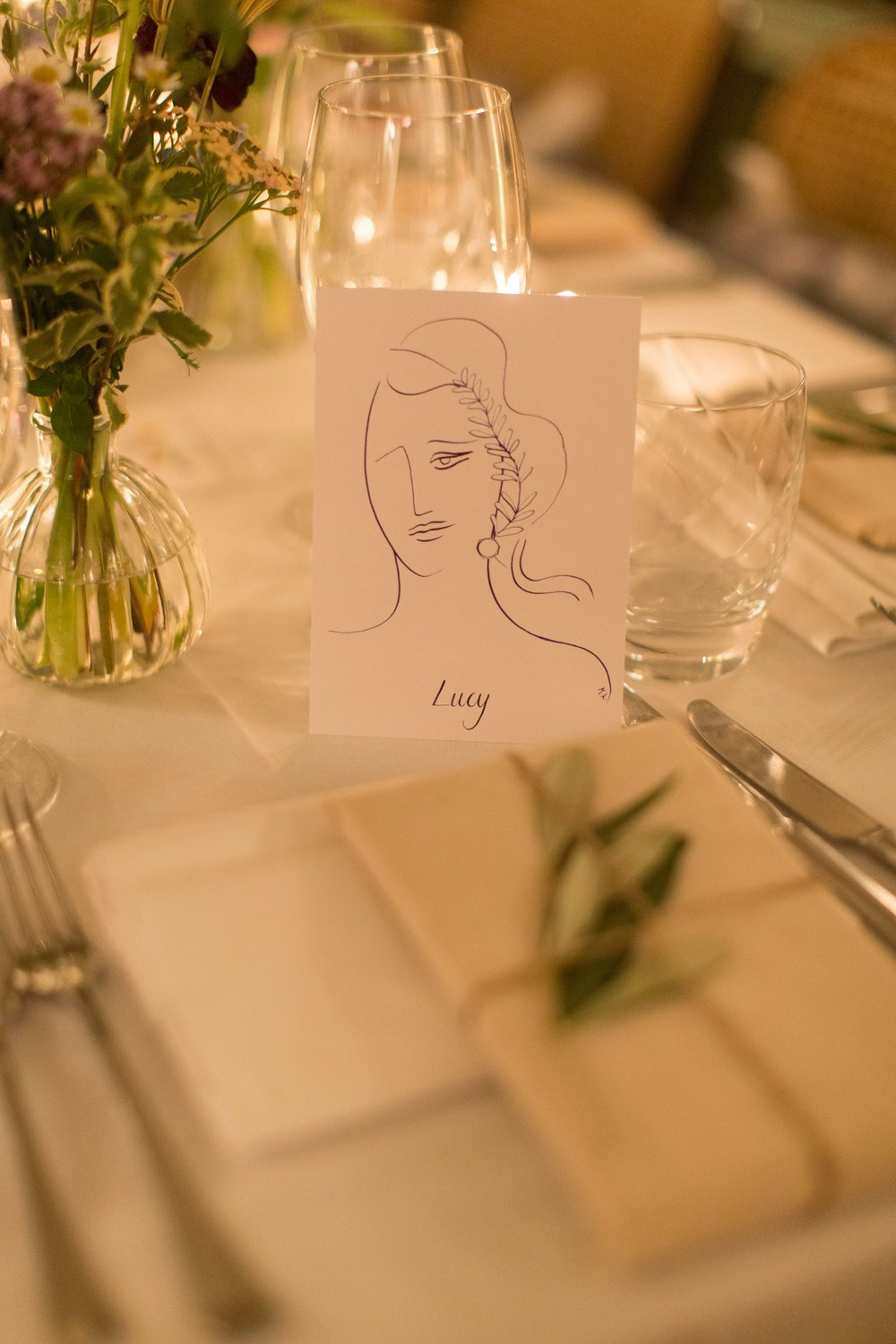 Place cards by Marianna K