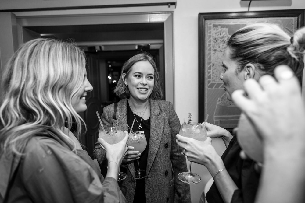Lucy Williams, Tanya Burr and Laura Fantacci