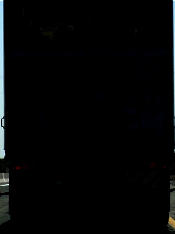 Black truck, 2010.