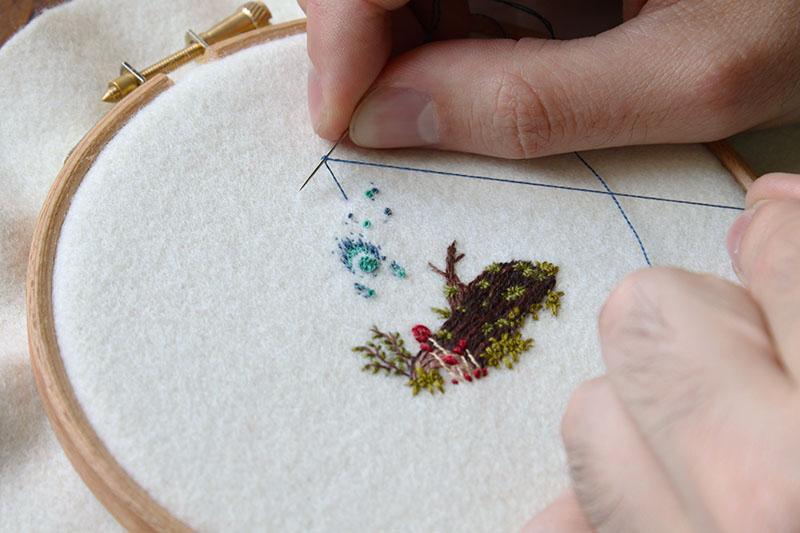 How I Create: Adam Pritchett, textile artist