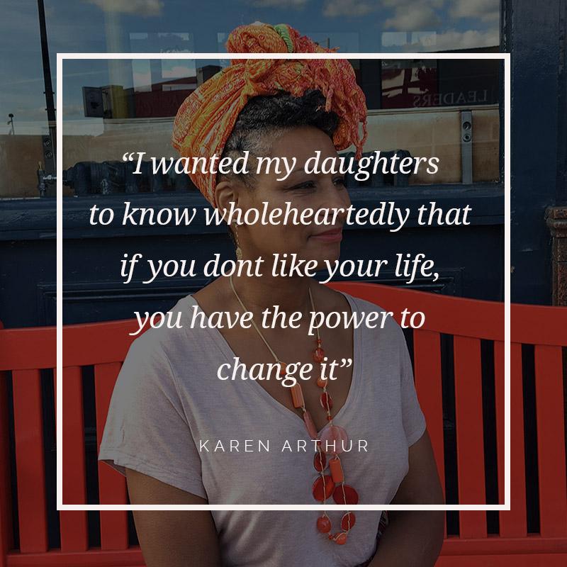 An interview with Karen Arthur, fashion designer - The Collative