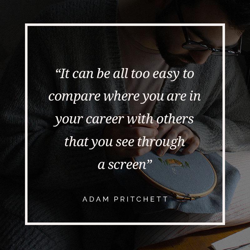 How I Create: Adam Pritchett, textile artist - The Collative