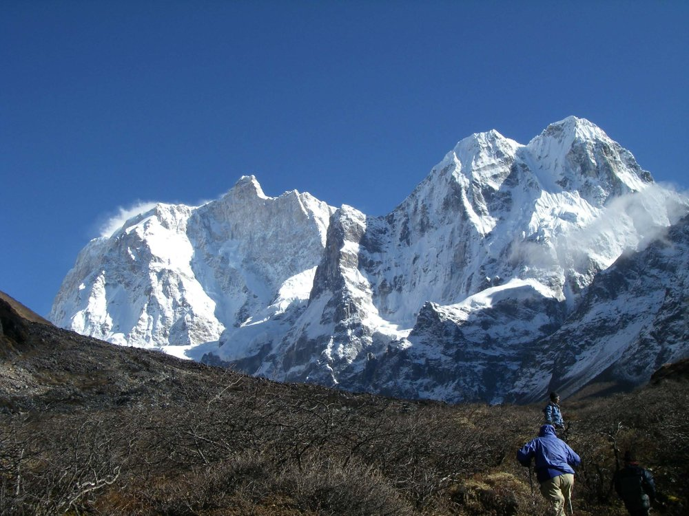 Mt. Jannu Day Hike, Kanchenjunga Trek 2010