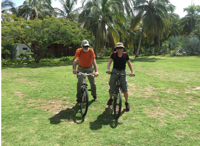 Exploring Punta Faro, Isla Mucura Island, Colombia, 2016.