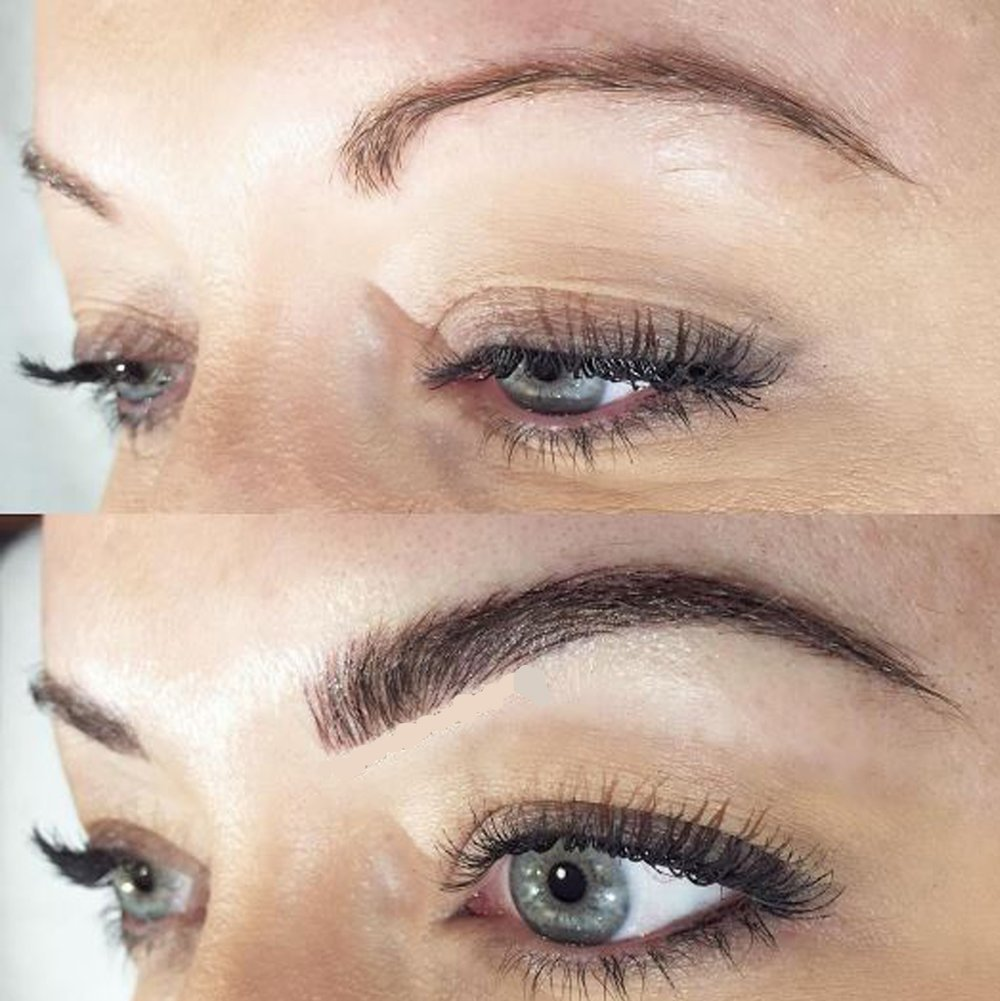 Microblading Semi Permanent Eyebrow Tattoo Dermasmooth