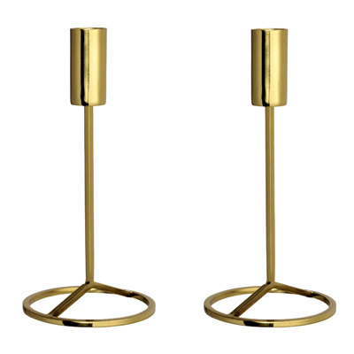 H&M Gold Candle Sticks | £8.99 each