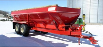 $250 per full day, plus tax  $125 per half day, plus tax You must have the spreader calibrated for your equipment in order to rent the spreader!