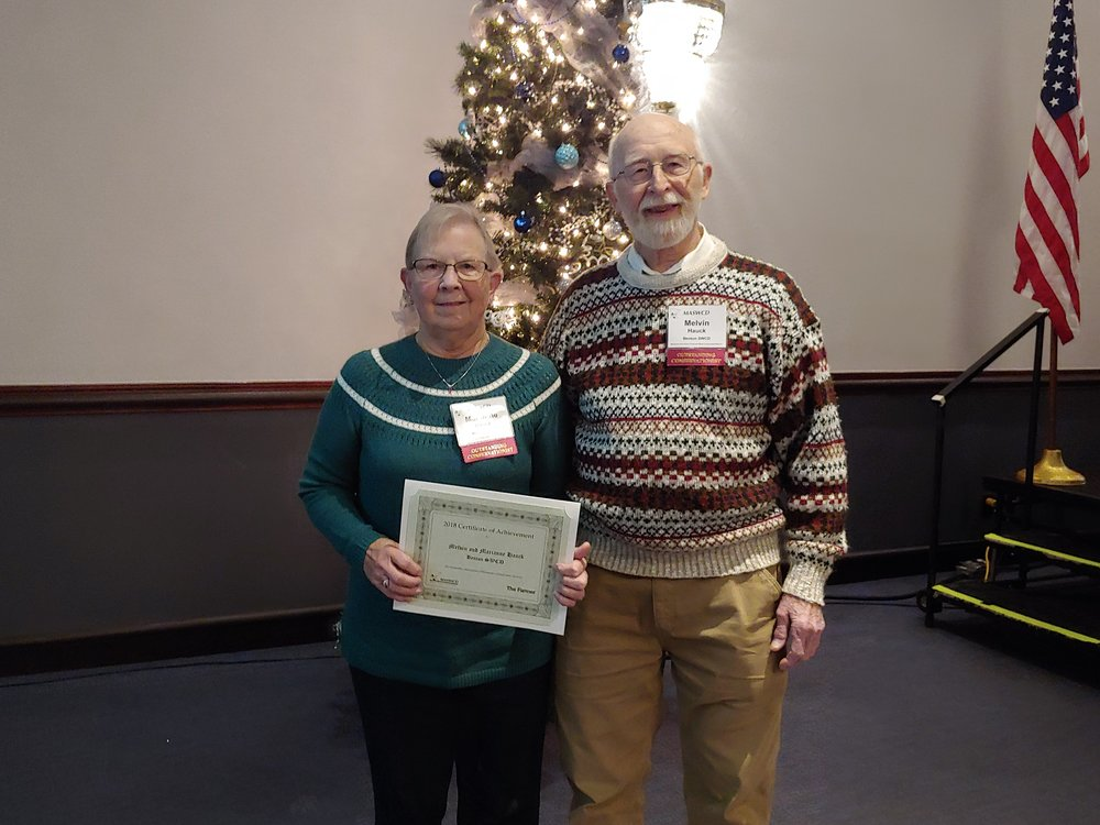 2018 MASWCD Convention OCC winners Mel and Marianne Hauck.jpg