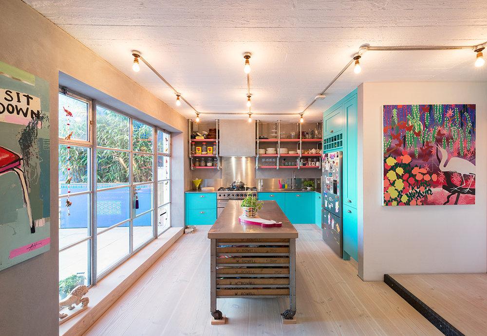 Colour Kitchen Industrial Vintage Loft