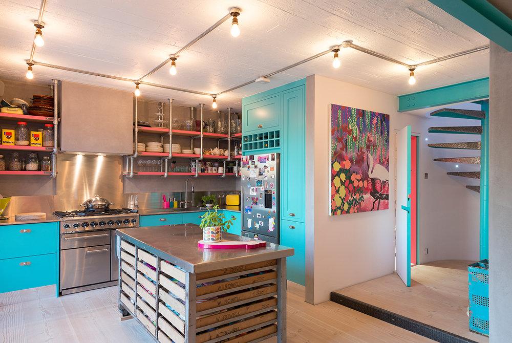 Loft Kitchen Conversion Color