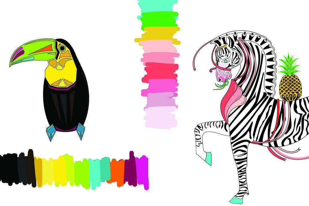 tropical-artwork-illustrator