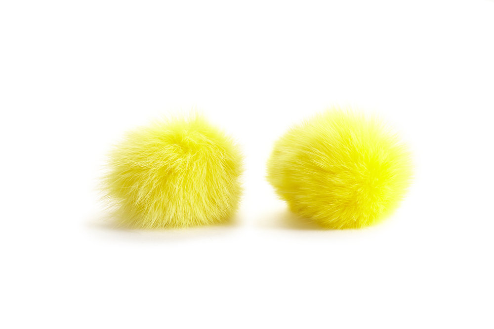 YELLOW FOX POM POMS .jpg