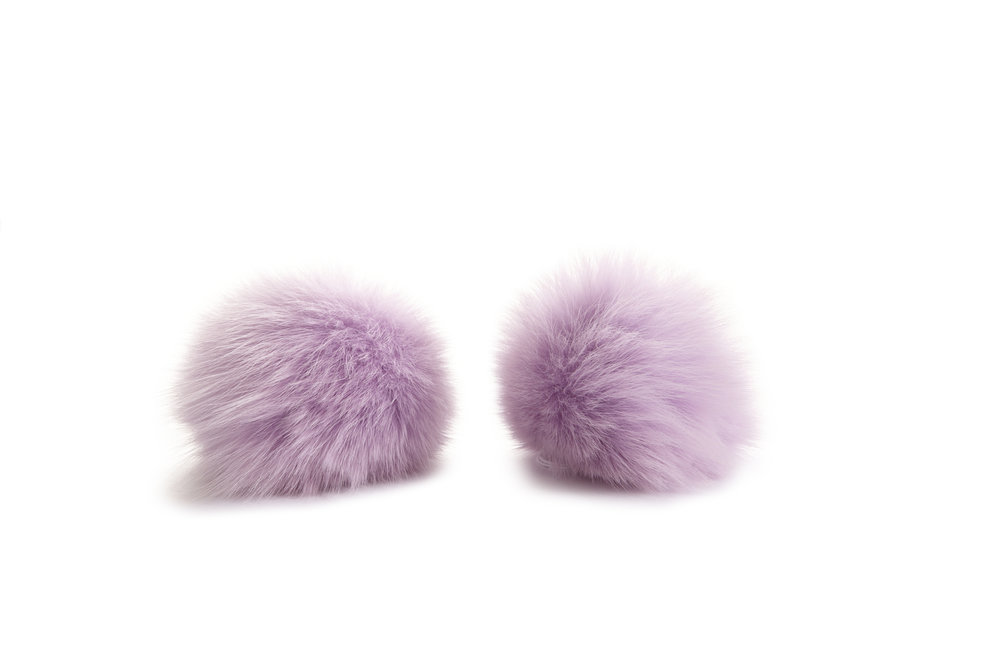 LIGHT PURPLE FOX POM POMS.jpg