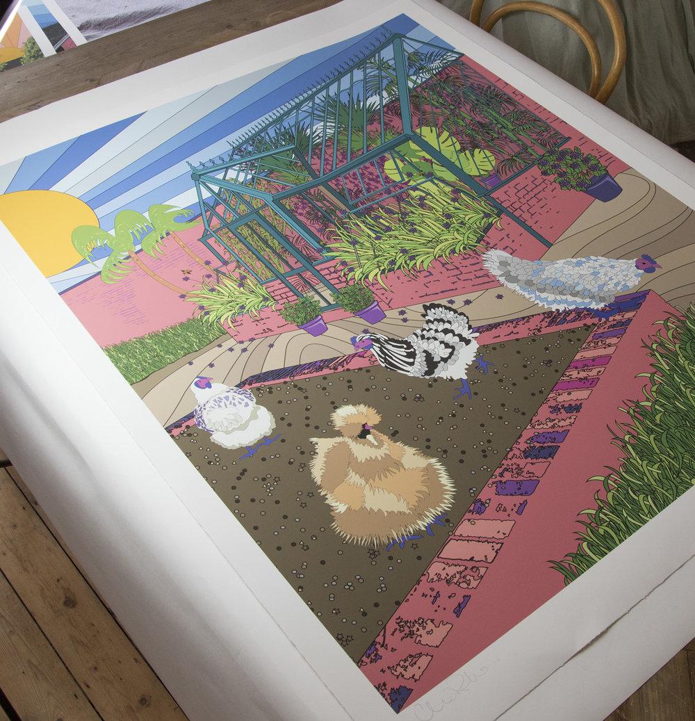 chicken-house-print