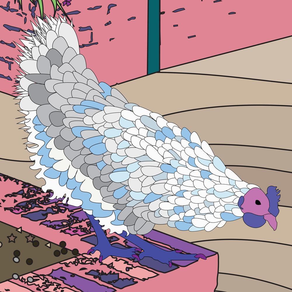 chicken-pink-art