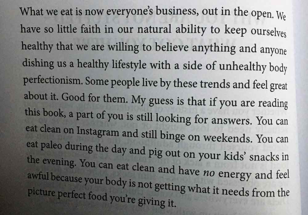 """You can eat clean on Instagram and still binge at the weekends""    Food for thought right there!"