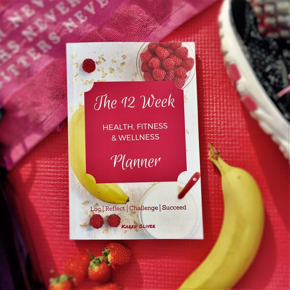 BTBS 12 Week Health Fitness and Wellness Planner Diary