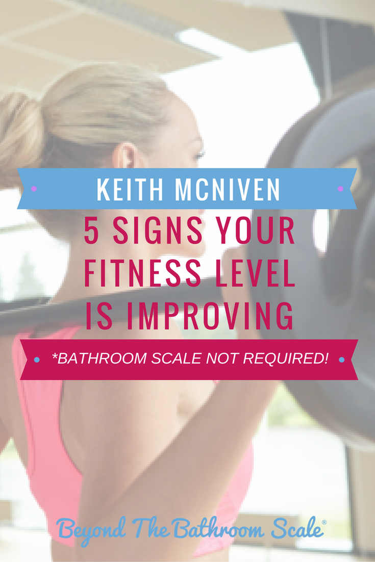 5 signs your fitness level is improving