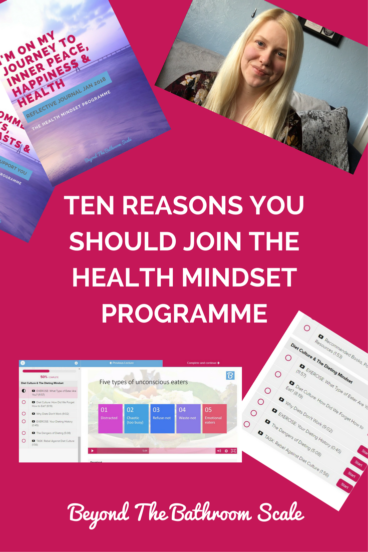 10 reasons you should join the health mindset programme