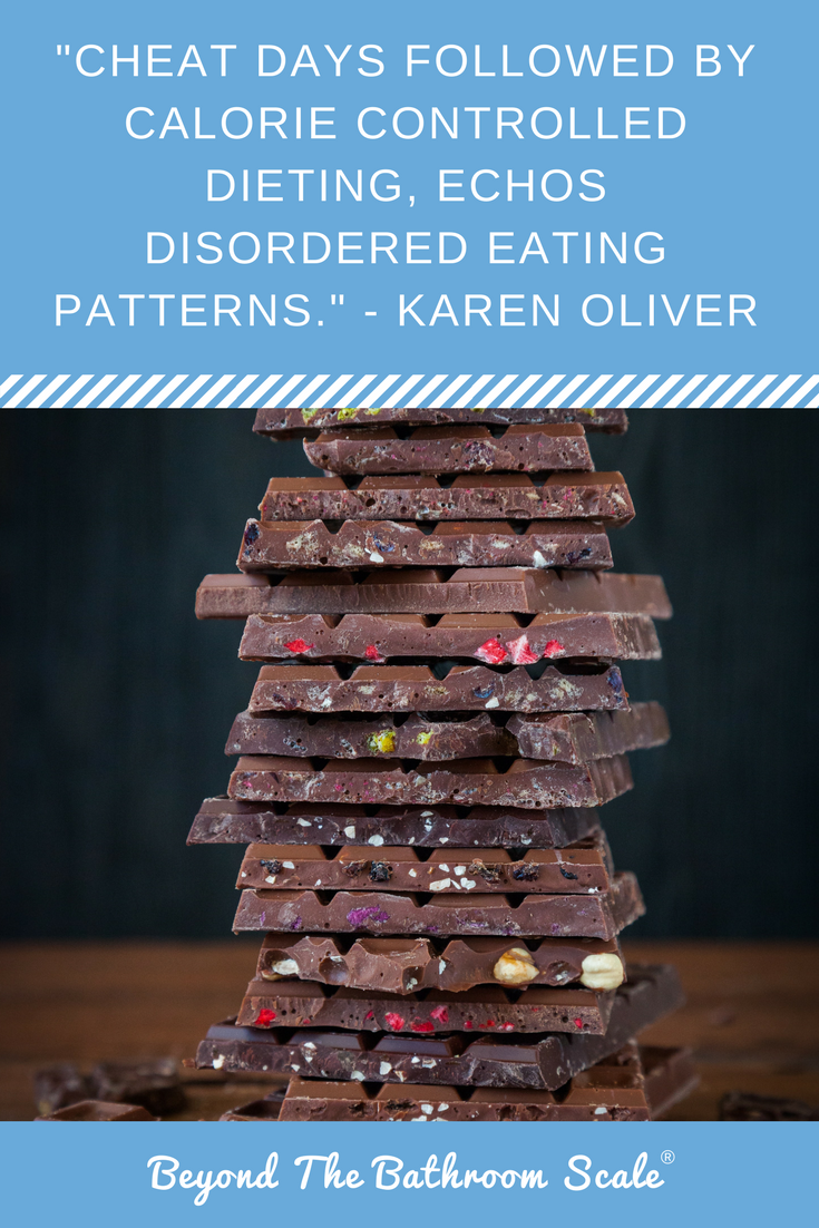 cheat days calorie counting dieting and eating disorders