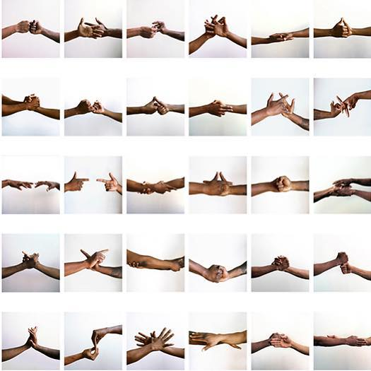 """Five on the Black Hand Side"" photo series by @lamonthamilton — 'Five on the Black Hand Side is a project exploring gestural languages that were born in African American communities during the 1960s and 1970s, including the ""the dap"" and the black power handshake.'"