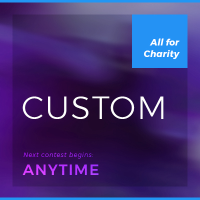 custom contest  Start your own competition, set the time frame and the contribution amount. Challenge your friends and colleagues. These are great for team building.  Learn more.